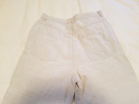 Vintage 1990s Laura Ashley Linen/Cotton Jeans Siz… - image 2