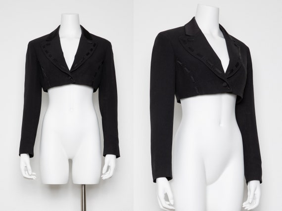 Moschino Cheap & Chic Cropped Blazer