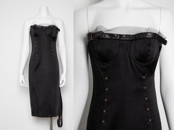 Vintage Archival Dior Corset Bustier Dress