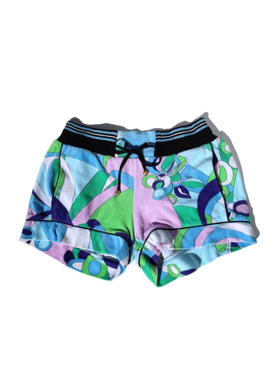 Pucci Terry Shorts Sz S
