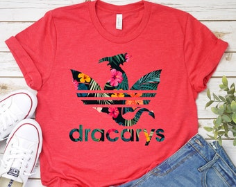 b2519040 Dracarys Dragon Floral T-Shirt - Mother Of Dragons Shirt - Khaleesi Mom  Shirt For Women - GOT Fans Gift Tee - Daenerys Targaryen Shirt