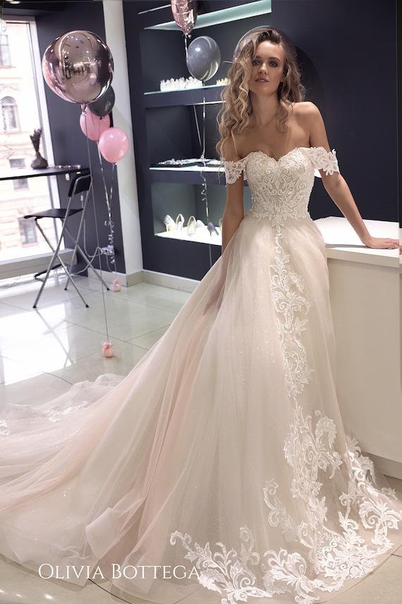 Shoulder Wedding Dress Off 72 Buy