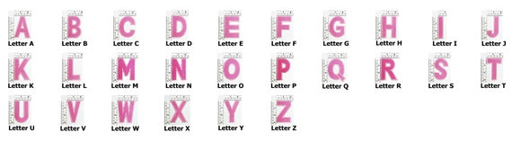 Alphabet W White Color English Letter Applique Iron on Patch Sew For T-shirt