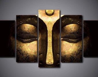 Buddha Art Panel Etsy