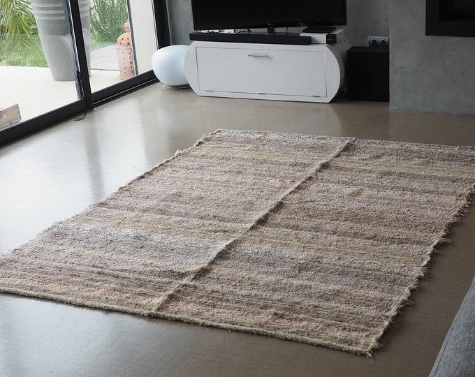 Carpet cotton recycled ethical eco-friendly Interior contemporary Brown eco friendly fair trade Scandinavian style