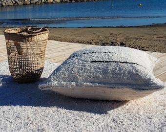 housse de coussin   coton  recyclé éthique  écologique  intérieur contemporain lavable