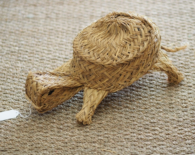 Snail esparto natural decoration hand braid traditional Andalusian crafts ethical sustainable eco-friendly fair trade