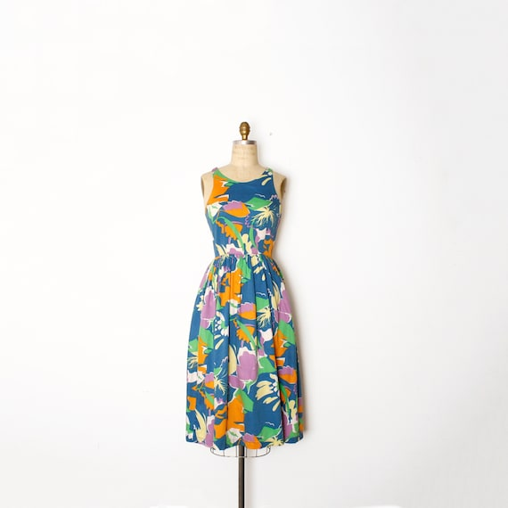 abstract sun dress | size small