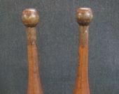 Vintage Wooden Indian Clubs Exercise Pins