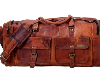 89650423267e MLK Martin Luther King Day Sale Leather Duffle Travel Bag