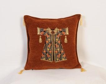 Brown Pillow Sham Etsy