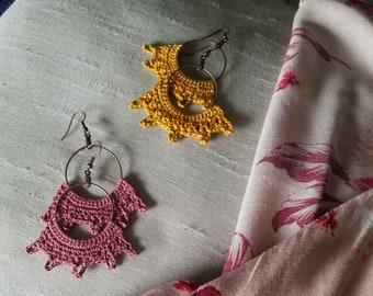 PDF Pattern: Rayos de Esperanza (Rays of Hope) Earrings