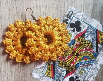 Sunburst Medallion Earrings
