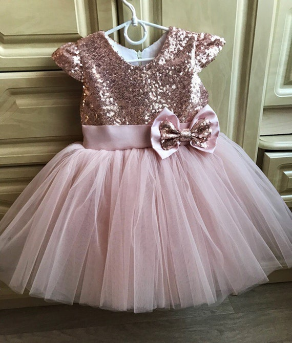 Pink and Gold Birthday Outfit 1st Birthday Girl Outfit Baby Girl 1st Birthday Outfit Birthday Tutu