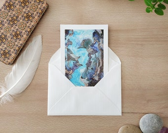 Postcard / Map / Illustration / Wall decoration / Print / Postcard