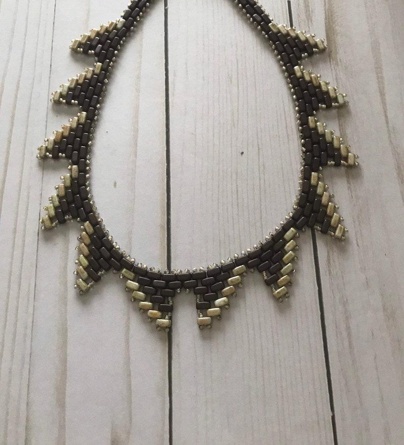 Handmade Womens Art Deco Necklace