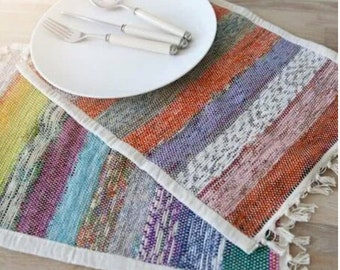 Upcycled Fair Trade Placemats