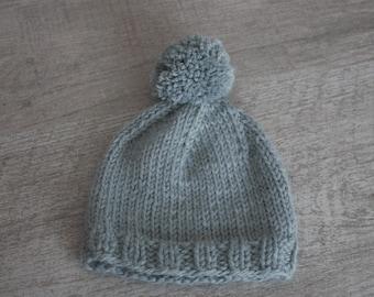 d4cbf547345 bonnet pompon photographe bébé nouveau né baby props pompon