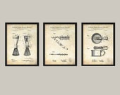 VINTAGE SHAVING Collection (3 Patent Print Set) Vintage bathroom decor, Vintage razor, Bathroom poster decor, Bathroom art, Gift for man