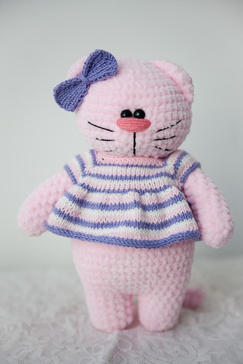 cat toys Baby shower cat gift for kids cat plush cute  cat Crochet cats cat crochet Cat lover gift cat animal stuffed animal cat
