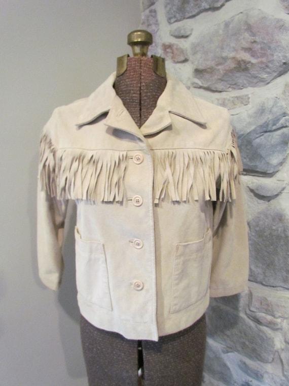 1960's Fringe Suede Jacket