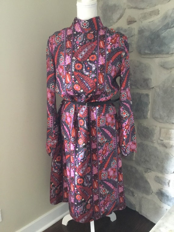 Very Colorful, A-Line Dress