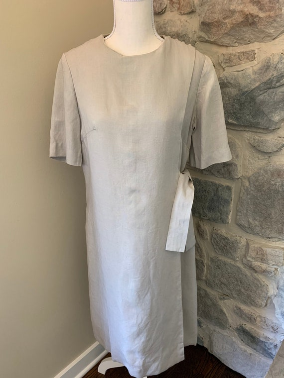 1950's Vintage Womens Wrap Dress
