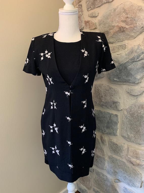 1960s Women's Two Piece Vintage Dress