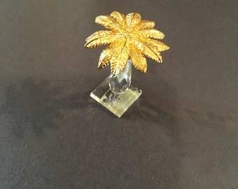 Palm Tree Figurine Etsy