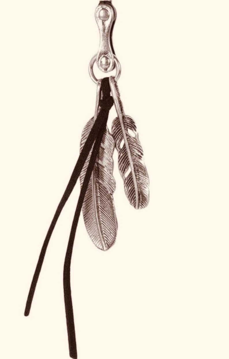 Handmade Necklace Leather Metal Men Women Gift 12NKCH5588N