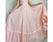 Gunne Sax Pink Dress