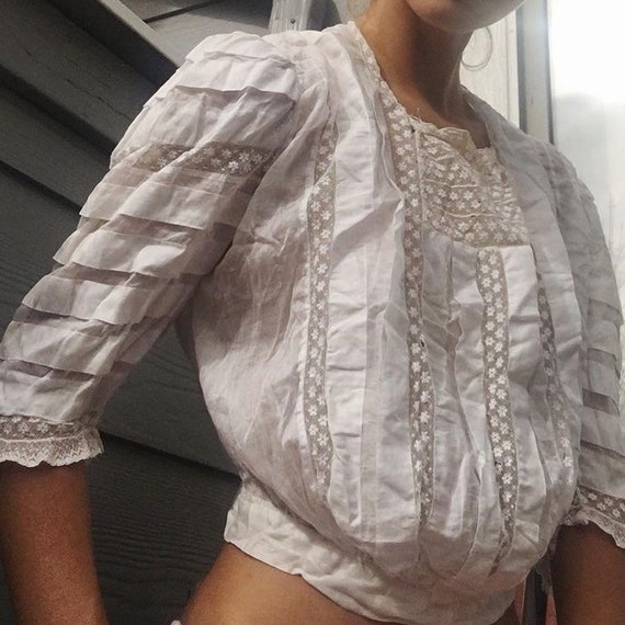 1900s Victorian blouse - image 2