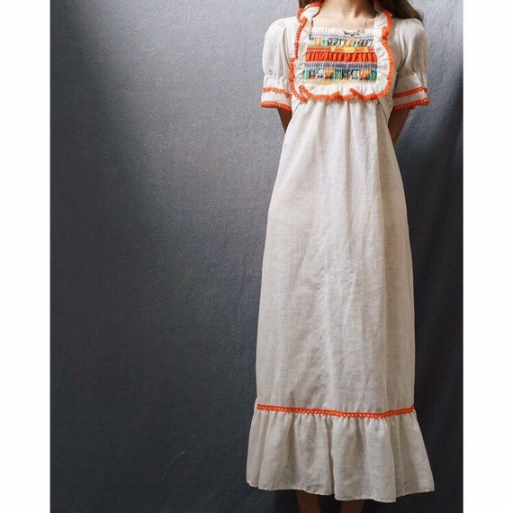 1960s Cotton Dress