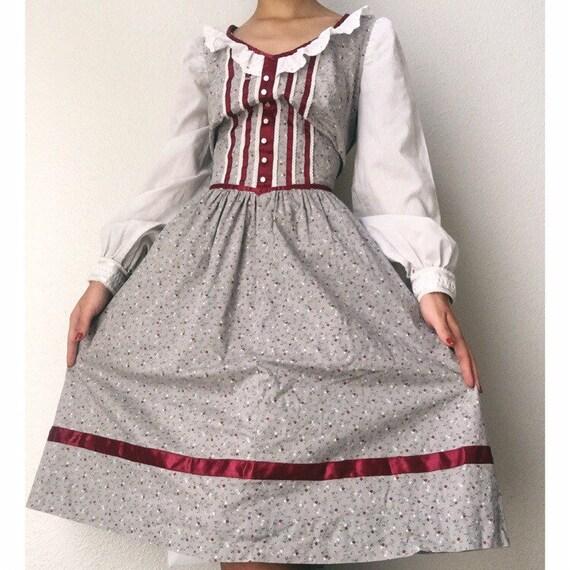 1970s or 1960s Prairie Dress