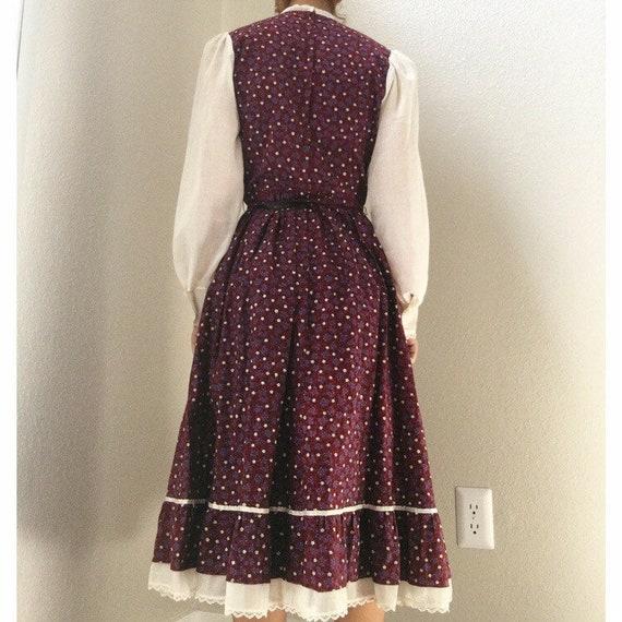 1970s Candi Jones Prairie Dress - image 3