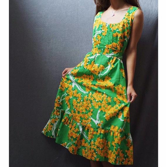 1960s Malia Honolulu Dress
