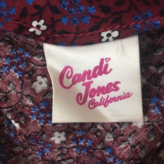1970s Candi Jones Prairie Dress - image 4