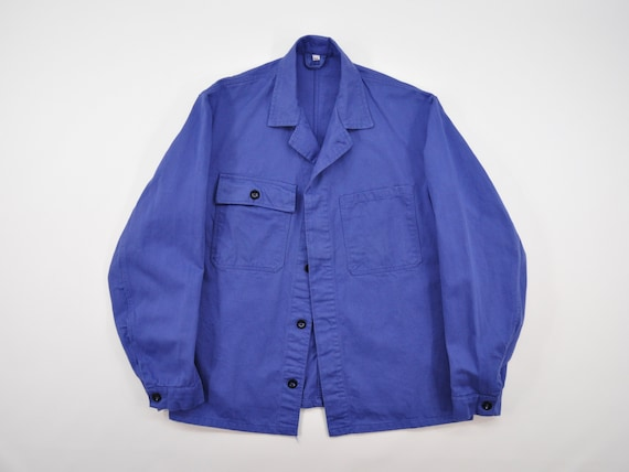 Vintage French Work Chore Jacket / French Worker J