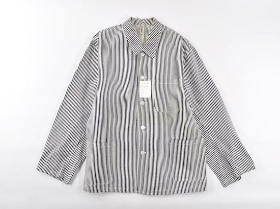 Vintage Deadstock Hickory Stripe Selvedge Work Cho