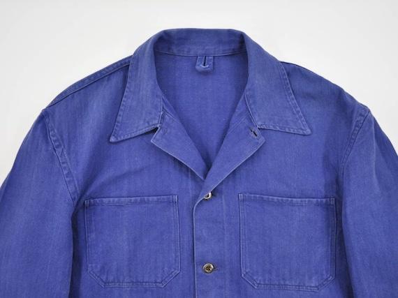 Vintage European HBT Work Jacket, German Workwear