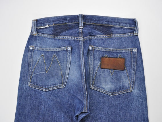 Mister Freedom Jeans Selvedge Denim, Distressed Je
