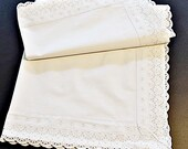 "White Wash Pillow Cover 80 x 80 cm, 31.5ŵx31.5, ""shabby pillows"