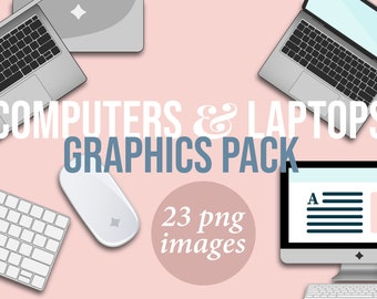 25 Things to Make and Do in Adobe Photoshop Elements 4 Laptop Clipart: Office Workspa