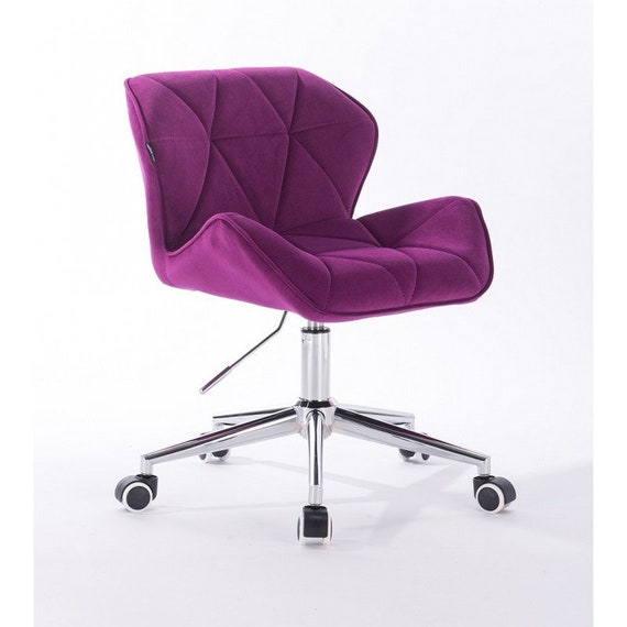 Pleasant Designer Desk Chair From Velour Office Chair 9 Colours Cjindustries Chair Design For Home Cjindustriesco