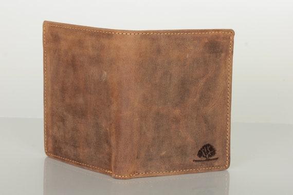 Herren Geldbörse Geldbeutel Leder RFID Brieftasche
