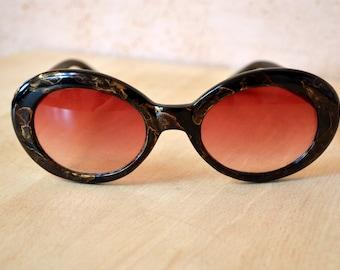 e0ff9cea89ec7 Sunglasses Vintage Sunglasses Oversized Retro Sunglasses Sunnies Soviet Sunglasses  70s Red Sunnies
