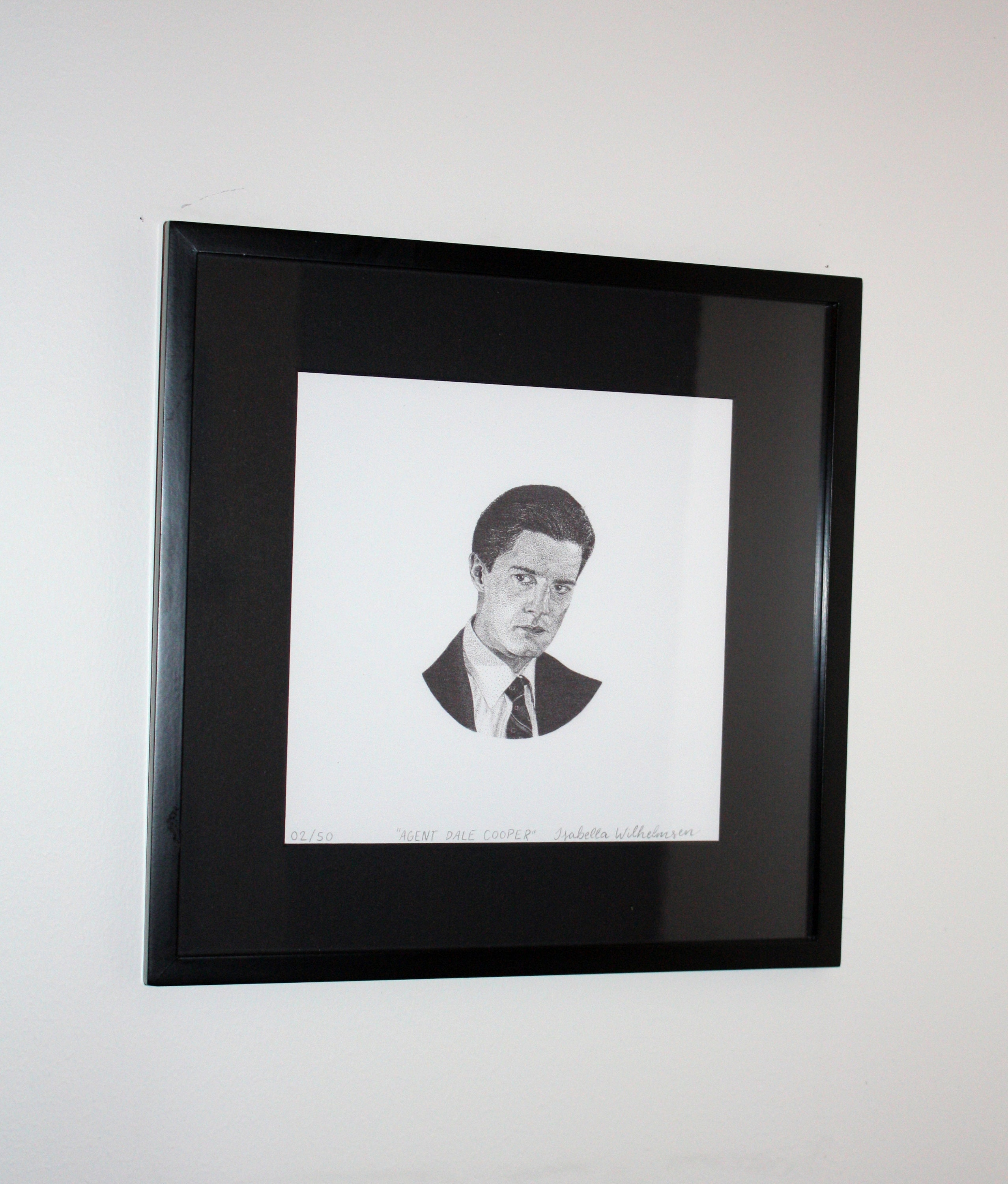 Agent Dale Cooper - Twin Peaks - Limited Edition Print #50