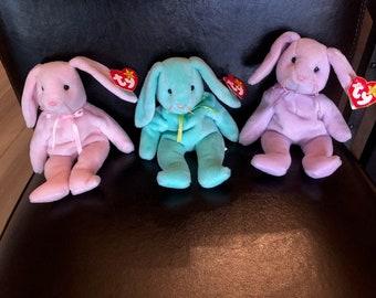 Rare Ty Beanie Baby Bunnies--Hippity 30b084ae367b