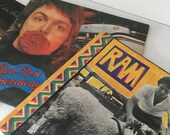 Paul McCartney Albums,vinyl, records, LPs