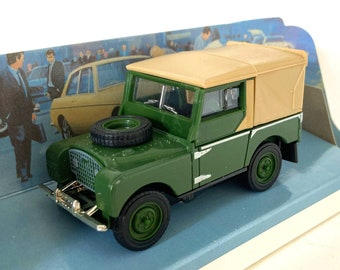 Vintage Dinky Toy 1949 Land Rover,Green, Boxed, Model Car, Toy Car, Gift Idea, Collectable toys 1980